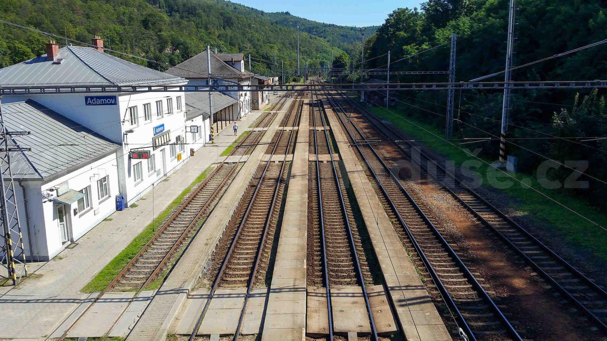 Train station Adamov