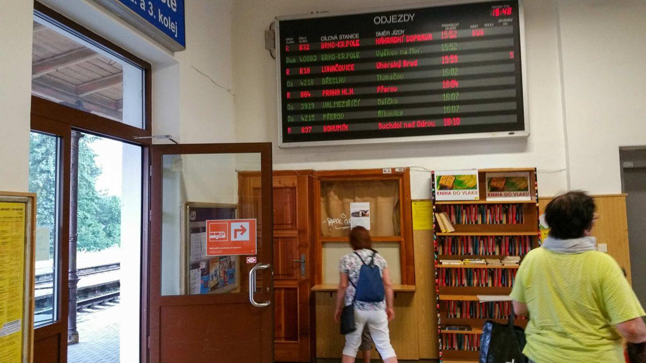 Nádraží Hulín, 2.nástupiště