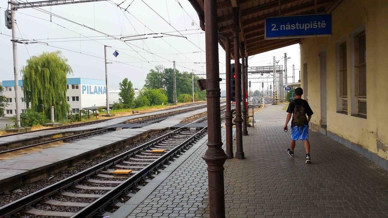 Nádraží Hulín, nástupiště 1b