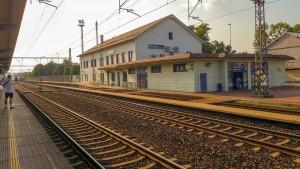Řečany nad Labem platform 1