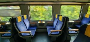 Sedadla vozu Bmpz 20 73