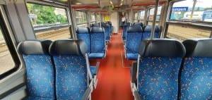 Sedadla vozu 843