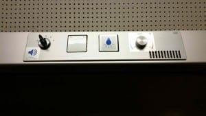 Ovládání klimatizace ve voze RegioJet (RJ) Standard