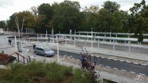Karlovy Vary autobusový terminál před ndražím