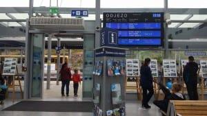 Karlovy Vary train station