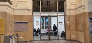 Čekárna na brněnském hlavním nádraží