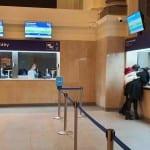 Pokladny ČD na brněnském hlavním nádraží