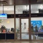 Čekárna ČD Lounge v Brně na hlavním nádraží