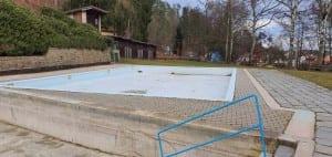 Koupaliště v obci Luleč