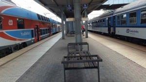 3.nástupiště v Ostrava-Kunčice