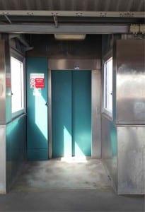 Výtah na nádraží v Kunčicích