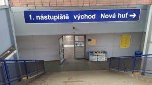 Ostrava-Kunčice 1.nástupiště