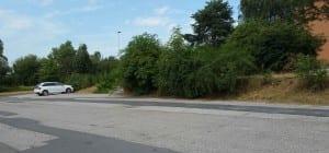 Parkování na nádraží v Kunčicích