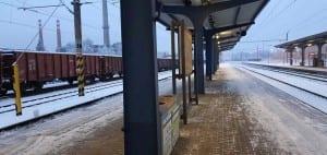 Train station Žďár nad Sázavou.