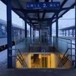 2.nástupiště na nádraží Žďár n. Sázavou