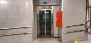 Výtahy na nádraží ve Žďáru nad Sázavou