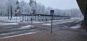 Autobusové nádraží ve Žďáře nad Sázavou