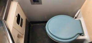 Záchod ve voze Bmpz 20-73