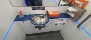 Ve vlaku RegioJet na záchod