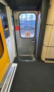 Nástupní prostor vozu Bmpz 20-90