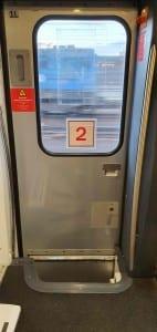 Dveře vozu RJ ASTRA Bmpz 20-90