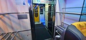 Úložný prostor ve vlaku RegioJet