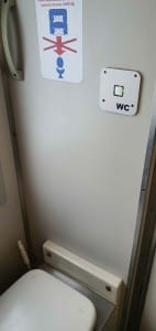 Záchod ve vlaku Bmz 21-09