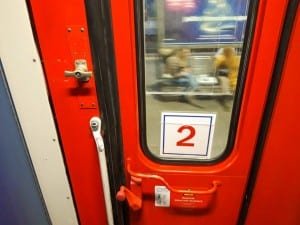 Dveře vozu Bmz 29-90