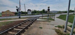 Přístup na nástupiště v Dyji
