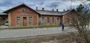 Jak na nádraží v Lulči