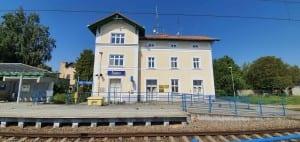 Train station Satov