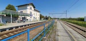 2.nástupiště v Šatově