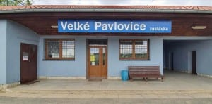 Train station Velké Pavlovice zastavka