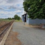 Přístup na zastávku Velké Pavlovice