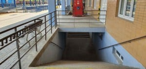 Podchod na Znojemském nádraží