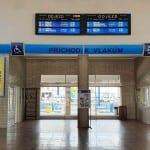 Přístup na nástupiště ve Znojmě