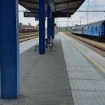 Na nádraží ve Znojmě