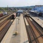 Znojmo - lávka nad nádražím