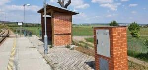 Train station Znojmo-Nový Šaldorf