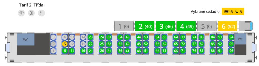 Plánek vozu 50-91