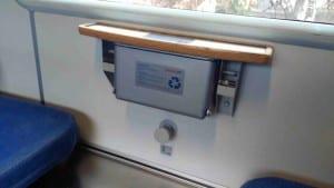 Ovládání klimatizace ve voze RJ Bcmz 50-91