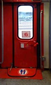 Dveře vozu RJ Bcmz 50-91