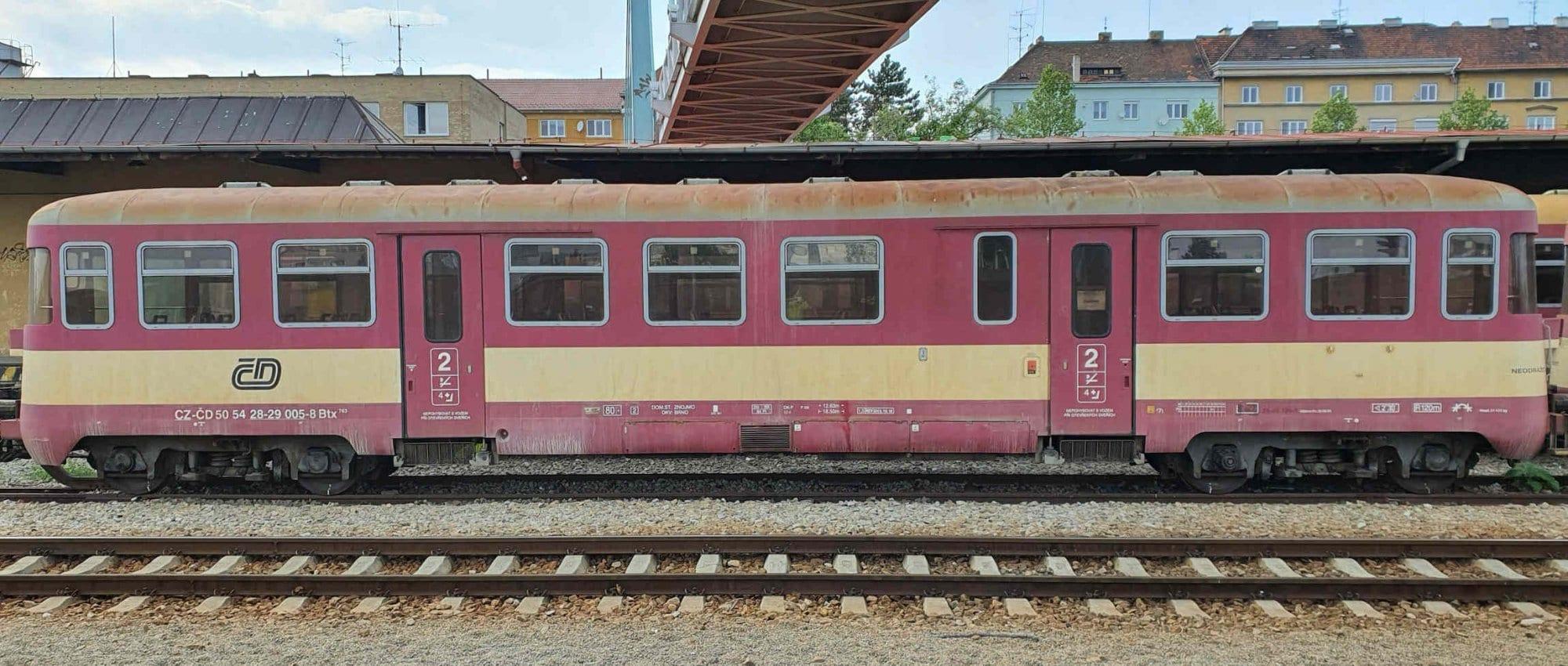 Popis a hodnocení vozu Btx 763