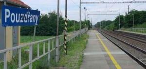 Pouzdřany - nástupiště u 1.koleje