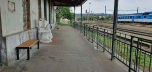 Train station Praha Bubny