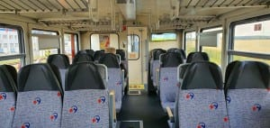 Sedadla vozu 811