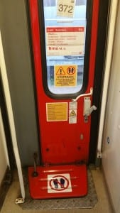Dveře vozu AB 349