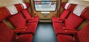 Sedadla vozu AB 349