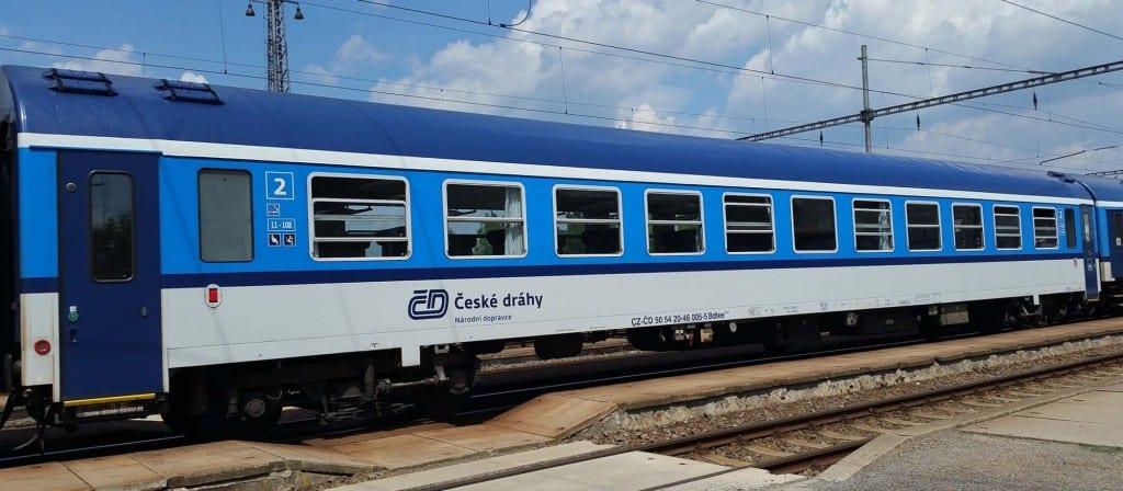 Vůz Bdtee 276 je vhodný pro přepravu kočárků