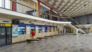 Hala nádraží v Havířově